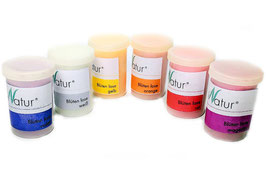 Silhouette/MiniNatur Blüten lose in 6 Farben, Inhalt je 30 ml pro Farbe - 898-29
