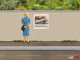 MODELLLAND H0 Zigarettenautomat - 1003-8