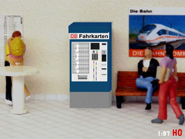 MODELLLAND H0 DB Fahrkartenautomat - 2088-8