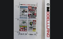 MODELLLAND - Spur 0 - Zeitung / Tageszeitung - 8101-0