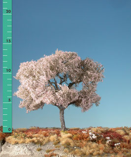 Silhouette 227-xx Kirschbaum, rosa, in 2 Größen, 1:87 / H0