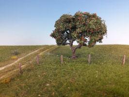 Silhouette 226-xx Apfelbaum mit Äpfeln, Sommer, in 2 Größen, 1:87 / H0