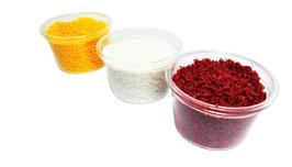 Welberg - Lose Blüten in 3 Farben, Rot, Weiß, Gelb zu je 5g. - CRWG