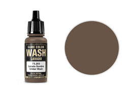 Vallejo Wash-Colour, Umber Wash, 17 ml - 73203 (773203)