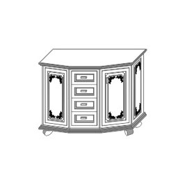 Stangel - 0 | Kommode Bausatz