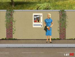 MODELLLAND H0 Zigarettenautomat - 1001-8