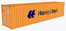 PT TRAINS - 40´ HC-Container Hapag Lloyd (840018) (H0)