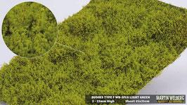 Welberg - SFLG Sträucher hellgrün / gelb, 2-20 mm, 15x21 cm, einzeln entnehmbar
