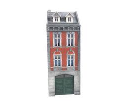 Stangel - 1:32   Wohnhaus 3 mit Tor / Doppeltür (BS1/054/04)