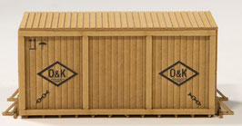 "Joswood - H0   Kiste mittel mit Rahmen ""O&K"" (40417)"