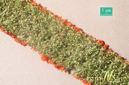 Silhouette/MiniNatur Blumen rot, 6 Streifen (998-23)