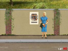 MODELLLAND H0 Zigarettenautomat DDR - 1004-8