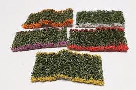 Silhouette/MiniNatur Blumensortiment, 5 Farben, je ca. 4 x 7,5cm (998-29SX)