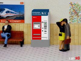 MODELLLAND H0 DB Fahrkartenautomat - 2091-8