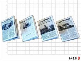 MODELLLAND - Spur 0 - Zeitungen der Epoche III - 8105-0