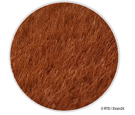 RTS - 6 mm Gras-Flock Braun – 50g (70506)