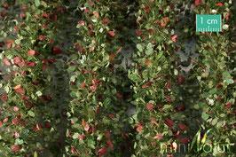Silhouette - 1:45+ Agrarstreifen mit Blättern Frühherbst, ca.42x15 cm (766-33) (1:45/1:32+)
