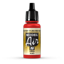 Vallejo - Rot, RLM23, 17 ml, acrylic color, 71003 (771003)