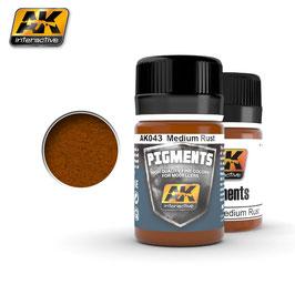 AK-interactive AK043 Pigment Medium Rust, 35ml