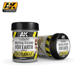 AK-interactive AK8023 - Terrains neutral texture for earth, 250ml (Acrylic)