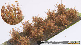 Welberg - Büsche braun - vertrocknet, 2-3 cm (SABR)