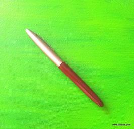 Schutzamulet in Form einer  stumpfen Klinge, nicht geschärft , aber versteckt in einem Füllfederhalter.  Klinge Breite 0,8 cm 3 Monate geweiht. von LP Pian.