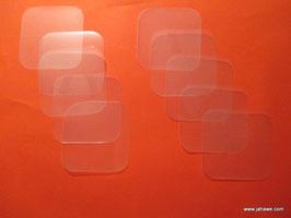 NEU Fensterfolien 5 cm zur Abschirmung von Chi . Die Ecken sind abgerundet. Die Schutzfolie wird abgezogen und die Klebefolie aufs Fenster geklebt.
