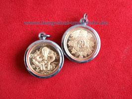 wunderbares Amulet, vor dem echten goldenen Buddha in Bangkok geweiht. Unikat  Nr.148