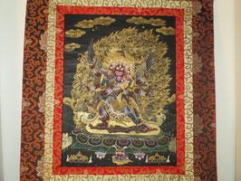 Hayagriva Thangka aus Tibet sehr feine Arbeit