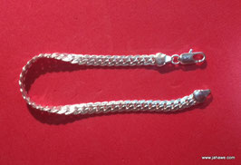 Armband aus 925 Sterling Silber 20,5 cm lang.