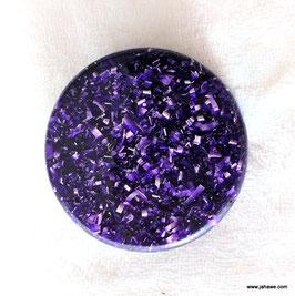Orgonite Orgon abstrahlende Objekte violett
