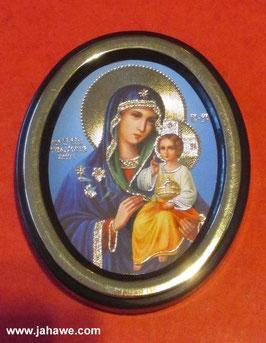 Russische Ikone geweiht in einem Kloster in Kiew