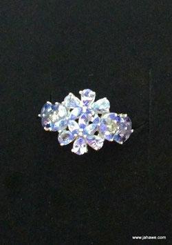 Harry Ivens IV Ring Silber 925 mit Tansaniten AA  Nr. 2