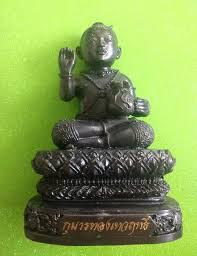 echte Guman Thong Statue von LP Watschara