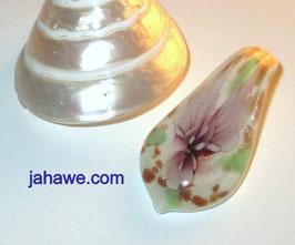Glaskunstanhänger  Braun Muranoglas