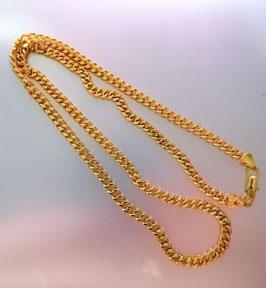 Kette goldfarben 60cm mit Carabinerverscluss