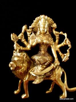 Durga in Ihrer Urform weibliche hinduistische Gottheit