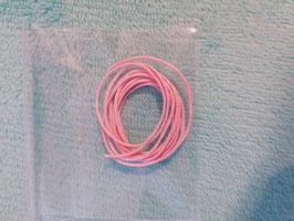 Baumwollband Rosa, 1 Meter lang, dicke 0,8mm