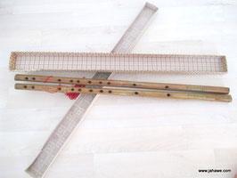 Bambusflöten länge  1 Paar Neu