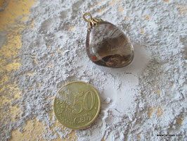 Rauchquarzanhänger länge 3,6 cm x 2,5 cm