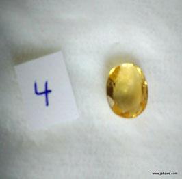 Edler Citrin aus Indien 3,5 carat 1mm x 9mm höne 4,5 mm