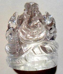 Bergkristallganesha ,  Hinduisticher Gott Ganesha der Hindernisse entfernt