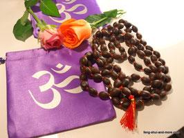 Echte Lotussamenmala 108 Perlen + 1 Guruperle, Super Qualität