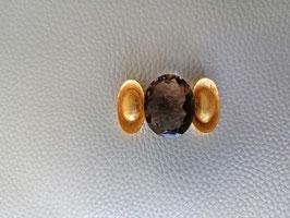 Rauchquarz oval facetiert 43 Karat sehr feine Qualität