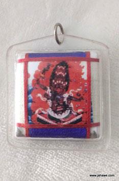 Phra Rahu Amulett aus Tibet, gegen negative astrologische Einflüsse. äußerst kraftvoll.