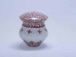 花紋 眠り壺