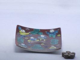 TK-003 木米風 角型香皿