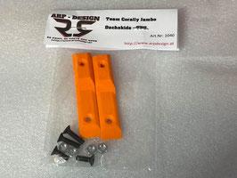 Dachstreben / Skids / Karoschutz passend für Team Corally Jambo