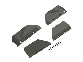 Arrma AR330414 Mudguards Nero / Fazon / Big Rock
