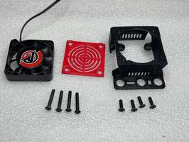 Reglerabdeckung passend für Hobbywing Max8 / Corally Torox185 inkl. 40mm Lüfter